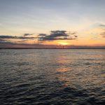 beautiful Atlantic sunset