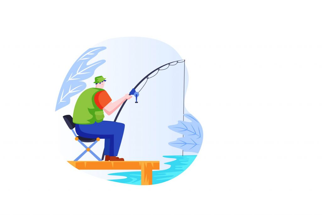 FL, Ormond Beach fishing